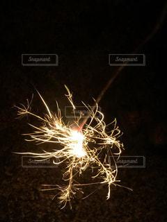 夜に花火の写真・画像素材[1432514]