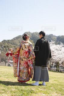 結婚一周年記念💒の写真・画像素材[1242037]