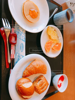 朝ごはんの写真・画像素材[1163671]