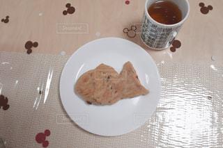 たい焼き with ほうじ茶の写真・画像素材[1204715]