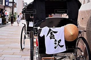 人力車in金沢の写真・画像素材[1207293]