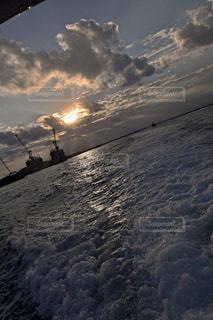 竹富島から石垣島への写真・画像素材[1207302]