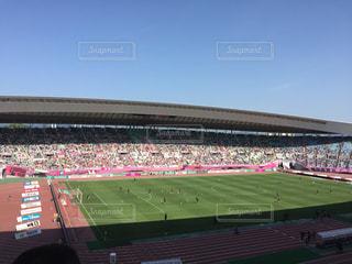 人でいっぱいスタジアムの写真・画像素材[1164187]