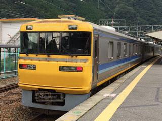 飯田線でドクターイエローとの出会い!の写真・画像素材[1251197]