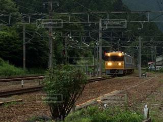 飯田線でドクターイエローとの出会いの写真・画像素材[1251255]