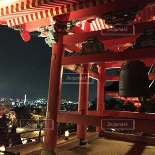 清水寺からの夜景の写真・画像素材[1205474]