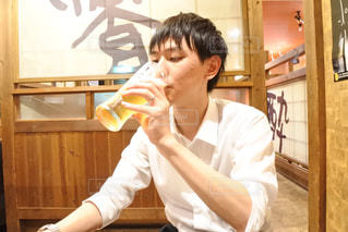 仕事終わりのビール!の写真・画像素材[1311171]