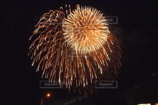 夜空の花火の写真・画像素材[1312327]