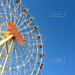 澄んだ青い空の写真・画像素材[1396132]