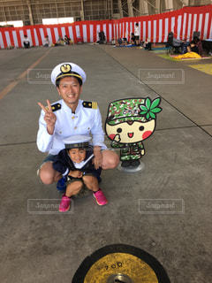 ヘルメットを身に着けている男の子の写真・画像素材[1257584]