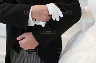 スーツとネクタイを着ている人の写真・画像素材[1252854]