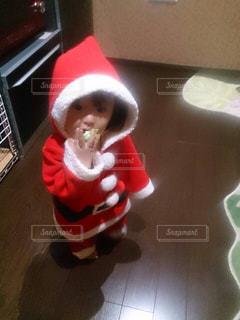 帽子をかぶった小さな子供の写真・画像素材[2184543]