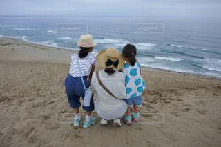砂丘で一休みの写真・画像素材[1184552]