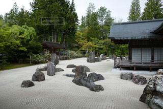 枯山水庭園の写真・画像素材[1200646]