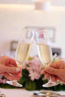 祝いの乾杯の写真・画像素材[1239690]