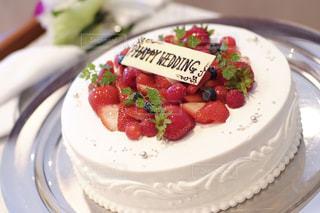 ウェディングケーキの写真・画像素材[1239693]
