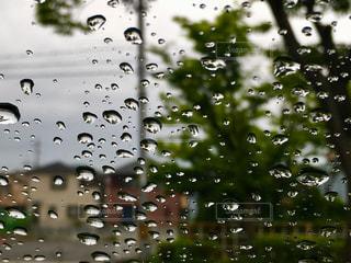 雨,室内,ガラス,梅雨,しずく,雨粒