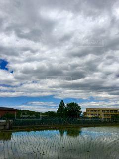 空,屋外,雲,梅雨,くもり,日中