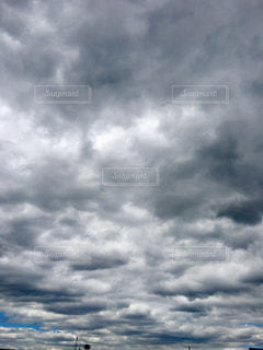 空,屋外,雲,梅雨,くもり