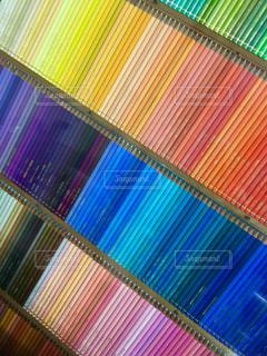 500色の色鉛筆の写真・画像素材[1254090]
