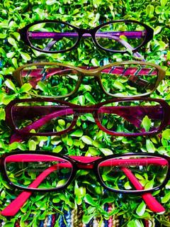 私の老眼鏡の写真・画像素材[1352883]