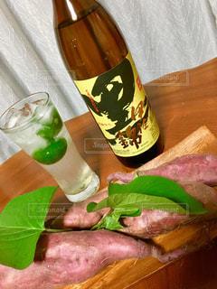 芋焼酎の黒伊佐錦の写真・画像素材[1433474]