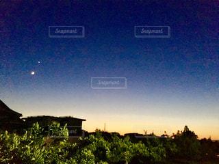 お月様出て来てー‼️の写真・画像素材[1504844]
