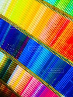 500色の色鉛筆たち。の写真・画像素材[1541431]