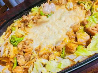 食事,カラフル,手,チーズ,ブロッコリー,キャベツ,箸,夕食,鶏肉,玉ねぎ,じゃがいも,チーズタッカルビ