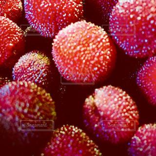 食べ物,赤,果物,小さい,丸,甘い,新鮮,丸い,山桃