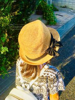 帽子,茶色,子供,女の子,麦わら,人,ブラウン,人間,ミルクティー色