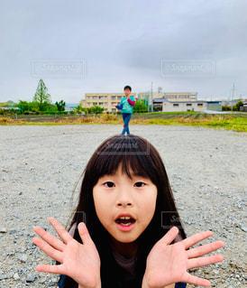 頭の上だよ〜ん🎶の写真・画像素材[2076651]