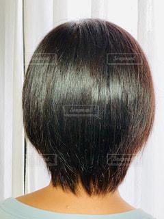 艶髪ショートヘアーの写真・画像素材[2461023]