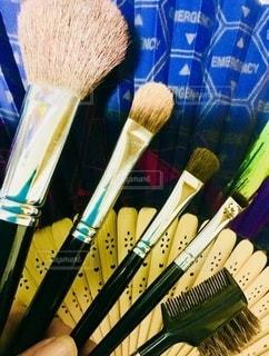 室内,指,メイク,美容,コスメ,化粧品,ブラシ,扇子,グッズ,アイブローコーム