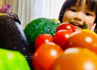 お野菜大好きの写真・画像素材[2812983]