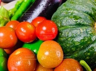 食べ物,風景,カラフル,トマト,野菜,かぼちゃ,食品,ピーマン,食材,茄子,フレッシュ,ベジタブル,多色,多種