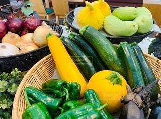 食べ物,風景,野菜,かぼちゃ,食品,キュウリ,玉ねぎ,食材,茄子,ズッキーニ,パプリカ,フレッシュ,ベジタブル,ザル,瓜