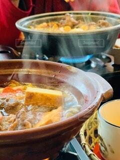 食べたくなるのよねー。すき焼き!!の写真・画像素材[4191660]