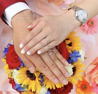Junebrideと結婚指輪♡の写真・画像素材[1270003]