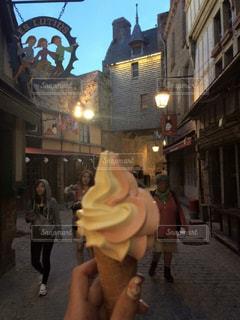 フランス,アイスクリーム,モンサンミッシェル