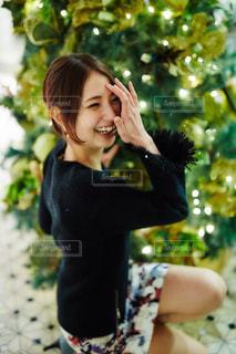 クリスマスツリー飾り付けの写真・画像素材[934984]