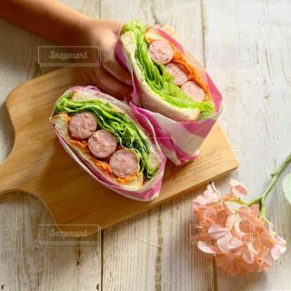 おうちごはん,ランチ,サンドウィッチ,ウインナー,サンドイッチ,おうちカフェ,ソーセージ,ボリューム,まんぷくサンド,ジョンソンヴィル