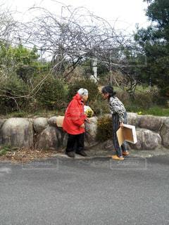 田舎,母,お母さん,おばぁちゃん,母と祖母,母と父の母,101歳と77歳の母,101歳,77歳
