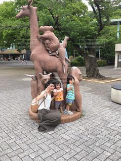 動物園,姉妹,大好き,ママ,初めて,お出かけ,仲良し親子