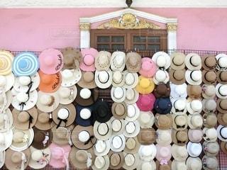 オールドタウンにある帽子屋さんの写真・画像素材[3383645]