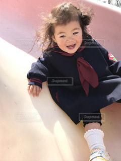 滑り台,2歳,娘,娘と滑り台