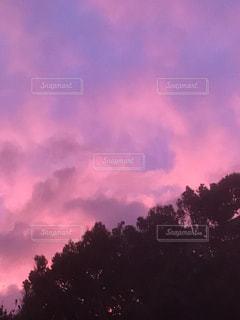 空の雲の群の写真・画像素材[2965348]
