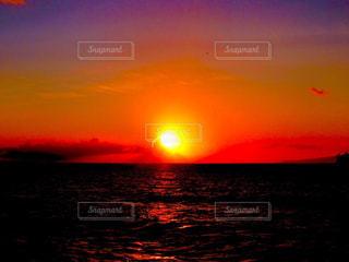 ハワイの夕日の写真・画像素材[1199054]