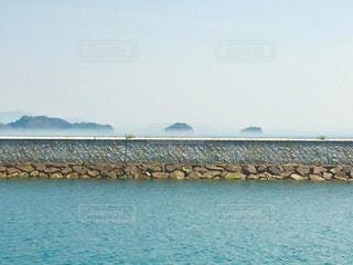 水の大きな体の写真・画像素材[1219161]