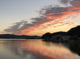 夕焼け雲の写真・画像素材[1864359]